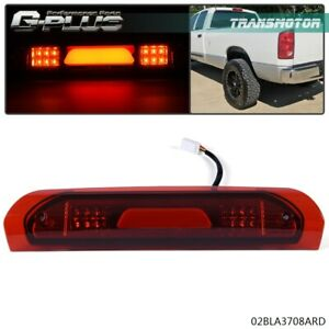 Fit For 2002 2008 Dodge Ram 1500 Red Truck Third 3rd Tail Brake Light Cargo Lamp Fits 2008 Dodge Ram 1500