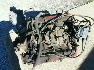 Vintage Mid 70 s Chevy 350 Long Block Engine You Pick Up Item In Lorain Ohio
