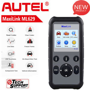 Autel Maxilink Ml629 Obd2 Diagnostic Scan Tool Car Abs Srs Engine Pk Md806 Md808