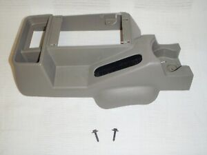 Jeep Wrangler Tj Lj Front Section Center Console Khaki 2005 2006 Oem Cup Holder