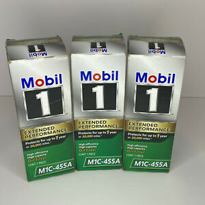 X3 Genuine Mobil 1 M1c 455a Extended Performance High Efficiency Oil Filter
