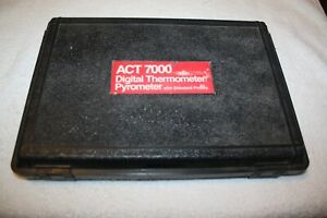 Snap On Act 7000 Digital Thermometer pyrometer W Standard Probes And Case