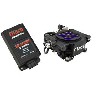 Fitech Fuel Injection System Kit 93008 Meanstreet Efi go Spark Cdi 800 Hp Black