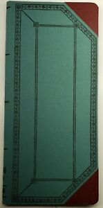 Vintage Boorum Pease Co Account Book 61 1 2 D 150 With 152 Pages