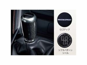 new Jdm Mazda Demio Dj Carbon Shift Knob Mazdaspeed Genuine Oem Mazda 2