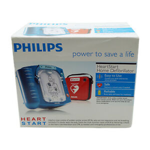 Philips Heartstart Home Aed Defibrillator With Carry Case Bonus Practice Kit