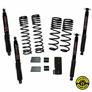Skyjacker Suspension 2 2 5 Lift Kit For 2007 2018 Jeep Wrangler jk 2 Door 4wd