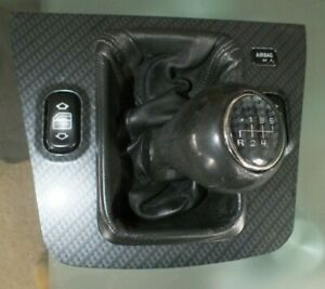 1998 2004 Mercedes Benz Slk230 R170 Carbon Shifter Bezel 1706800536 And Knob