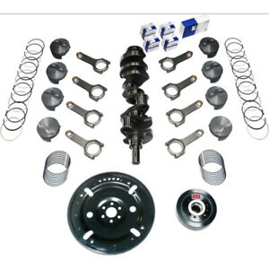 Scat Rotating Assembly 1 45010 Competition Std Wt Forged For Ford Sbf 302 Mains