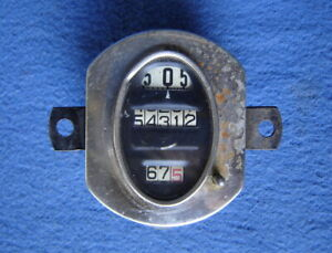 Model A Ford Parts Oem Stewart Warner Oval Speedometer Assembly 1928 1929 1930