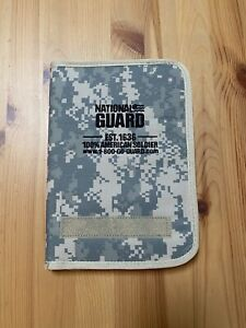 National Guard Digital Camo Binder Portfolio Organizer Pad Paper Notebook Small
