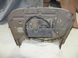 Model T Ford Cowl Firewall Original With Tag Coil Box Parts