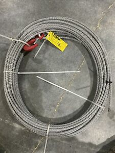 Tractel Griphoist 10mm 203 Foot Tow Cable With Hook