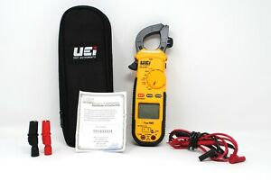 Uei Dl479t True Rms Digital Hvac Clamp Meter multimeter With Leads Soft Case