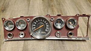 1963 1964 Chrysler 300 Imperial New Yorker Newport Dash Gauge Instrument Cluster