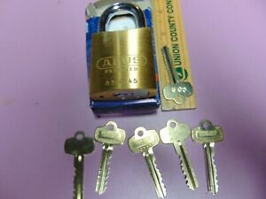 1 New Abus Ic Best Cyl With H Core And 1 Core And 5 Keys Padlock Locksmith