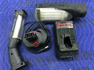 Snap On Versavolt Combo Package Charger Two Lights And Battery Fast Ship