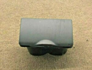 2002 2006 Toyota Camry Console Cup Holder Assembly dark Grey Charcoal Grey 3