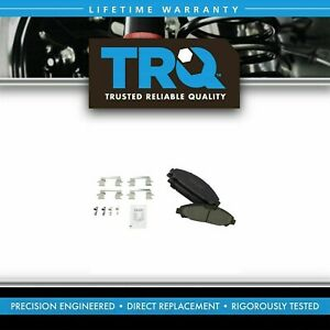 Trq Front Premium Posi Ceramic Disc Brake Pad Set For Ford Mustang 1abps03013