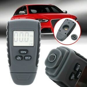 Digital Paint Thickness Tester Kit Small Accessories Abs Gauge Measuring