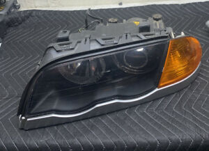 1999 2001 Bmw E46 M3 330i 330xi Front Left Driver Xenon Headlight Lamp Oem
