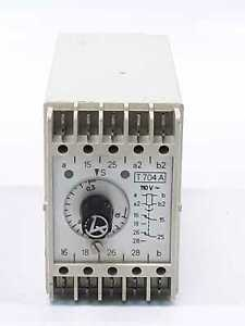 Elektro Automation T704a Seconds Timer Relay Module