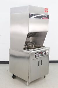 Used Wells Wvf 886 30 Lb Electric Dual Pot Ventless Fryer 560721