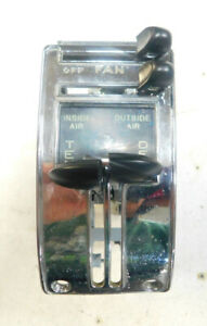 1955 1956 1957 1958 1959 Chevy Truck Heater Control 2 Reconditioned