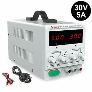 Dr meter 30v 5a Variable Switching Regulated Digital Bench Power Supply For Lab