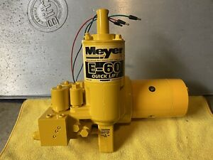 Meyer E60 Snow Plow Pump Rebuilt