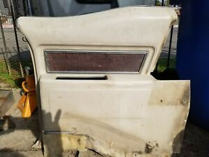 1969 1970 Cadillac Deville Convertible Right Rear Rest Arm Complete Mouldings