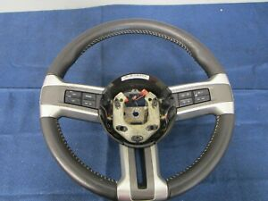 2010 12 Ford Mustang Gt Leather Steering Wheel 035
