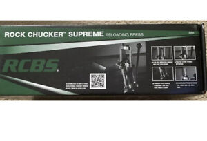 RCBS Rock Chucker Supreme Reloading Press 9356 New In Box amp; On Hand $399.87