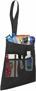 Car Trash Bag Small Hanging Garbage Can With An Organizer Pocket