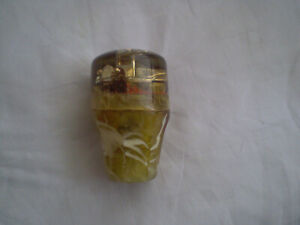 Rare Vintage Shift Knob Car Transparent Lucite Bakelite