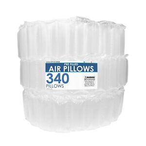 4x8 Air Pillows 340 Count Void Fill Package Dunnage Shipping Cushioning Packing