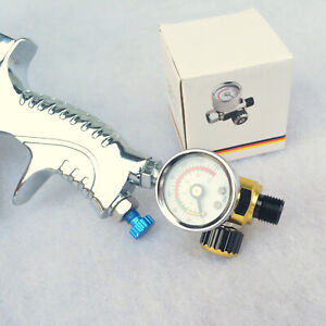 For Devilbiss Iwata Spray Tool Compressor Regulators Pressure Gauge Relief Valve