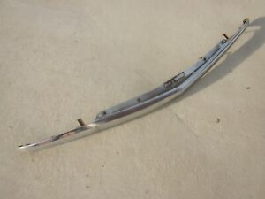 1954 Chevy Chrome Grille Top Molding Moulding Trim Bar Original