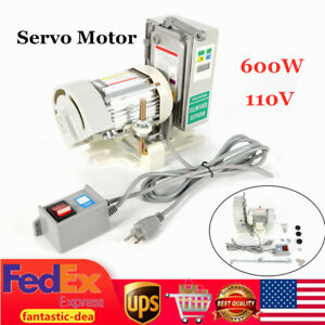 Sewing Machine Brushless Servo Motor Set 600w 110v Energy Saving 500 4500r min
