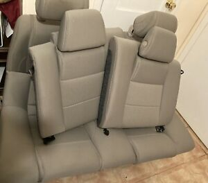 Front Back Rear Cloth Tan Seats 2011 2012 2013 2014 05 Ford Mustang Coupe