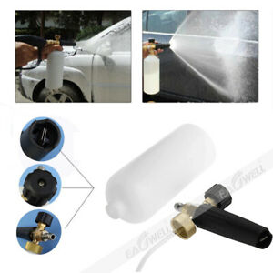 1l Snow Foam Cannon Bottle Lance For Pressure Washer Gun Jet Car Wash Soap Spray