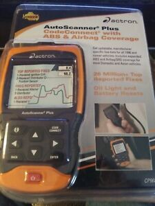 Actron Autoscanner Plus With Codeconnect Scan Tool Cp9680 New Sealed