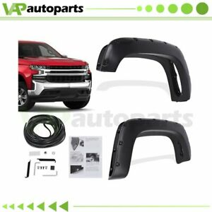 For 1988 1998 Chevy gmc C k Series Pocket Style Fender Flare Pocket Style 4pcs