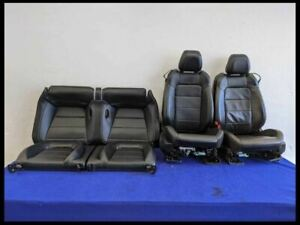 2015 2020 Ford Mustang Leather Bucket Coupe Resto Mod Retro Fit Seat Set Oem