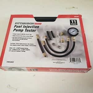 Pittsburgh Fuel Injection Pump Tester Gauge 0 100 Psi Pressure Line Fitting