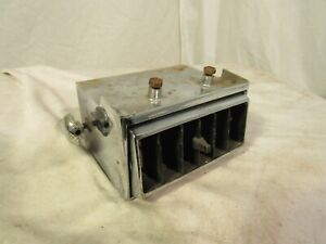 1966 Dodge Charger Dashboard Right Or Left Air Conditioning Vent Part 2607113