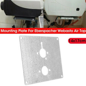 1pc Air Heater Mount Plate Bracket Parts Metal For Webasto Eberspacher Airtronic