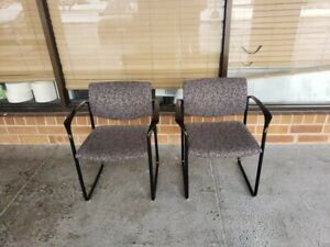Lot Of 4 Guest side Chairs By Steelcase Player