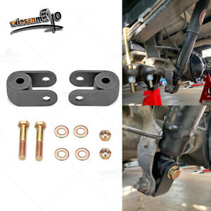 Fit Chevy Silverado Gmc Sierra 1500 Rear Shock Extender Kit 2 3 Lift Block