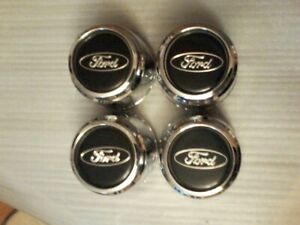 1997 2002 Ford Crown Victoria Wheel Center Cap P N F3ac 1a096 Aa Set Of 4 Oem